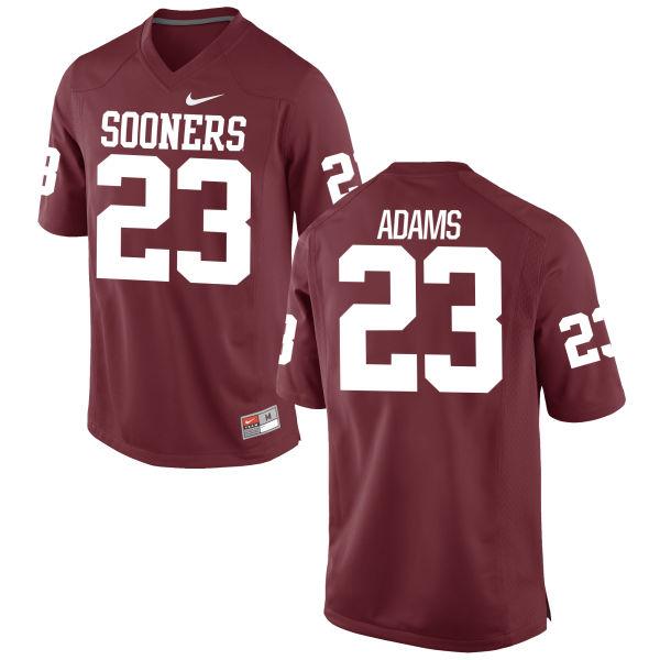 Men's Nike Abdul Adams Oklahoma Sooners Replica Crimson Football Jersey