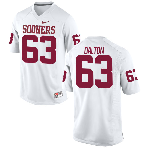 Men's Nike Alex Dalton Oklahoma Sooners Game White Football Jersey