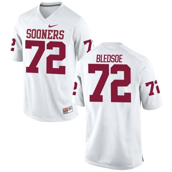 Youth Nike Amani Bledsoe Oklahoma Sooners Authentic White Football Jersey