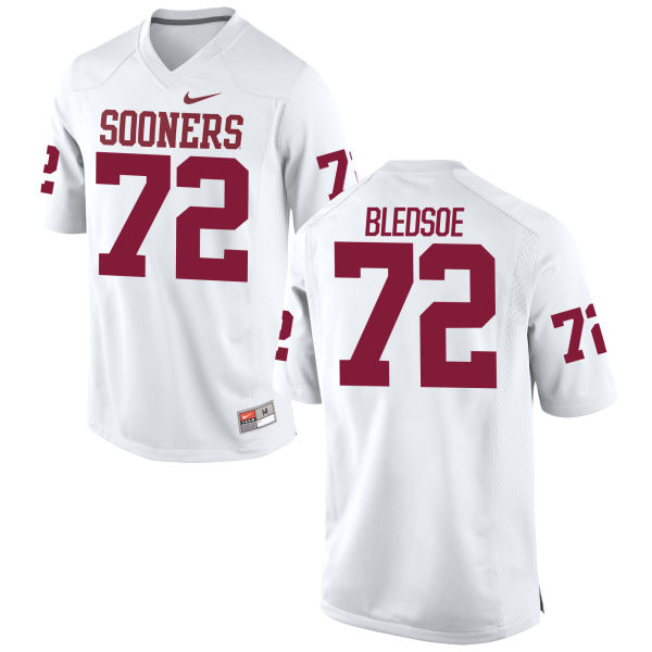 Youth Nike Amani Bledsoe Oklahoma Sooners Limited White Football Jersey
