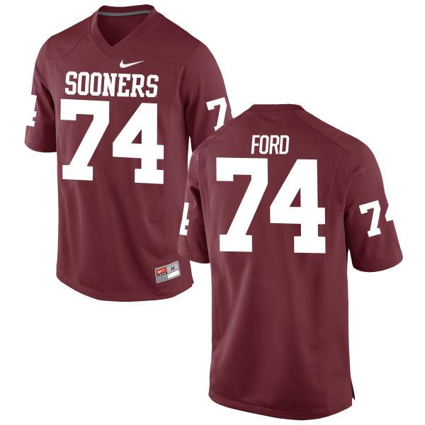 Men's Nike Cody Ford Oklahoma Sooners Replica Crimson Football Jersey
