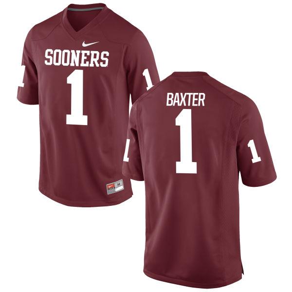 Women's Nike Jarvis Baxter Oklahoma Sooners Limited Crimson Football Jersey