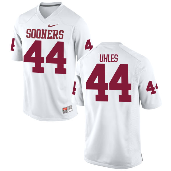 Youth Nike Jaxon Uhles Oklahoma Sooners Replica White Football Jersey