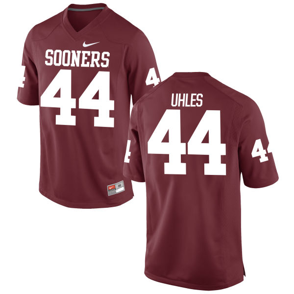 Youth Nike Jaxon Uhles Oklahoma Sooners Limited Crimson Football Jersey