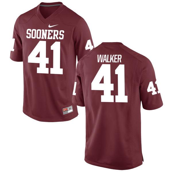 Women's Nike Jesse Walker Oklahoma Sooners Game Crimson Football Jersey