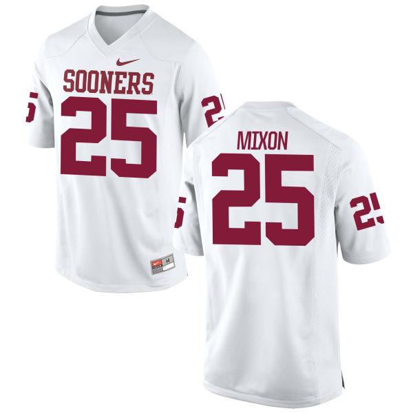 Men's Nike Joe Mixon Oklahoma Sooners Replica White Football Jersey
