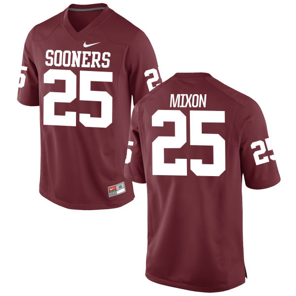 Men's Nike Joe Mixon Oklahoma Sooners Authentic Crimson Football Jersey
