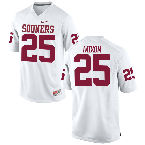 Men's Nike Joe Mixon Oklahoma Sooners Game White Football Jersey