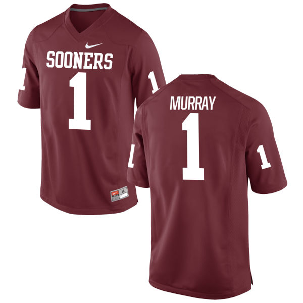 Youth Nike Kyler Murray Oklahoma Sooners Game Crimson Football Jersey