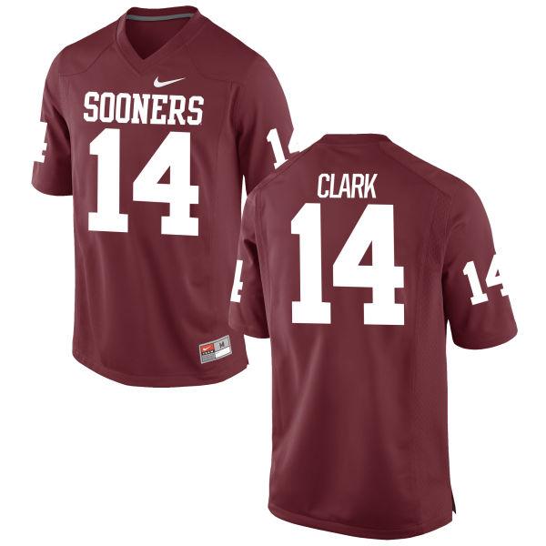 Youth Nike Reece Clark Oklahoma Sooners Limited Crimson Football Jersey