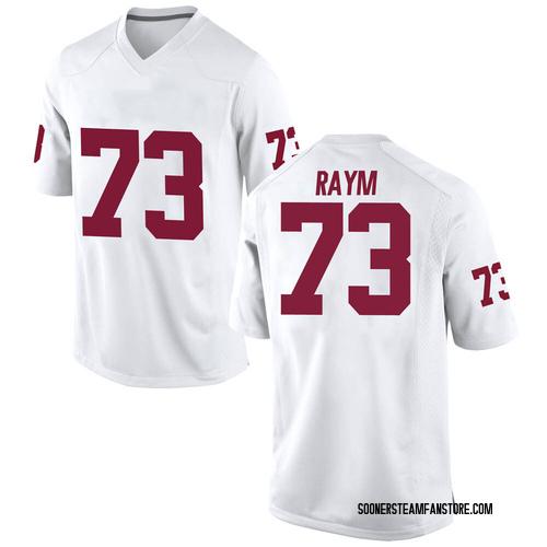 Men's Nike Andrew Raym Oklahoma Sooners Replica White Football College Jersey