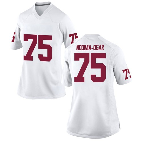 Women's Nike E.J. Ndoma-Ogar Oklahoma Sooners Replica White Football College Jersey
