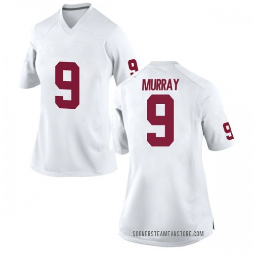Women's Nike Kenneth Murray Oklahoma Sooners Replica White Football College Jersey