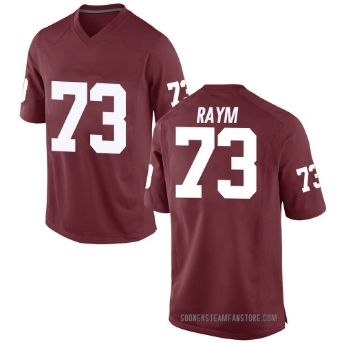 Youth Nike Andrew Raym Oklahoma Sooners Game Crimson Football College Jersey