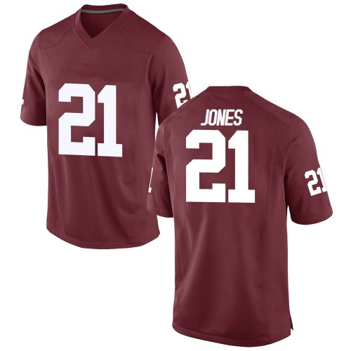 Youth Nike Ryan Jones Oklahoma Sooners Game Crimson Football College Jersey