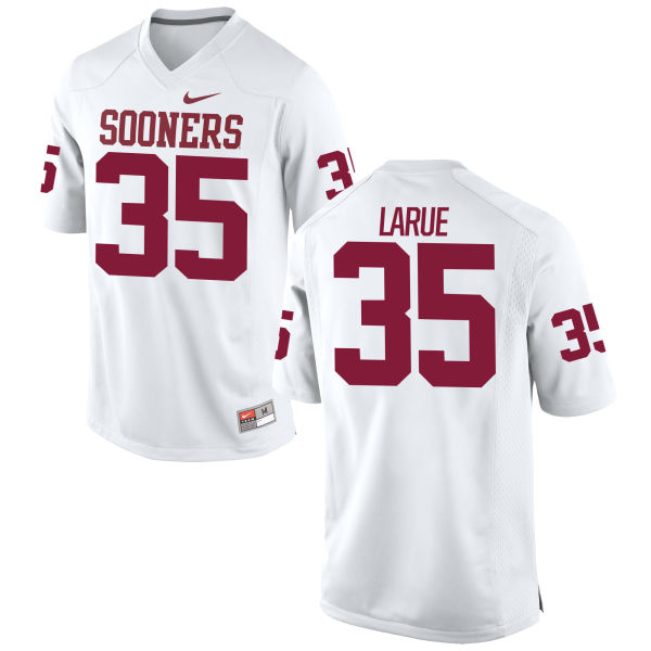 Men's Nike Ronnie LaRue Oklahoma Sooners Replica White Football Jersey